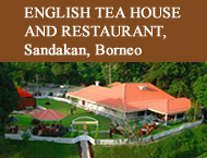 Ad for Sandakan restaurant